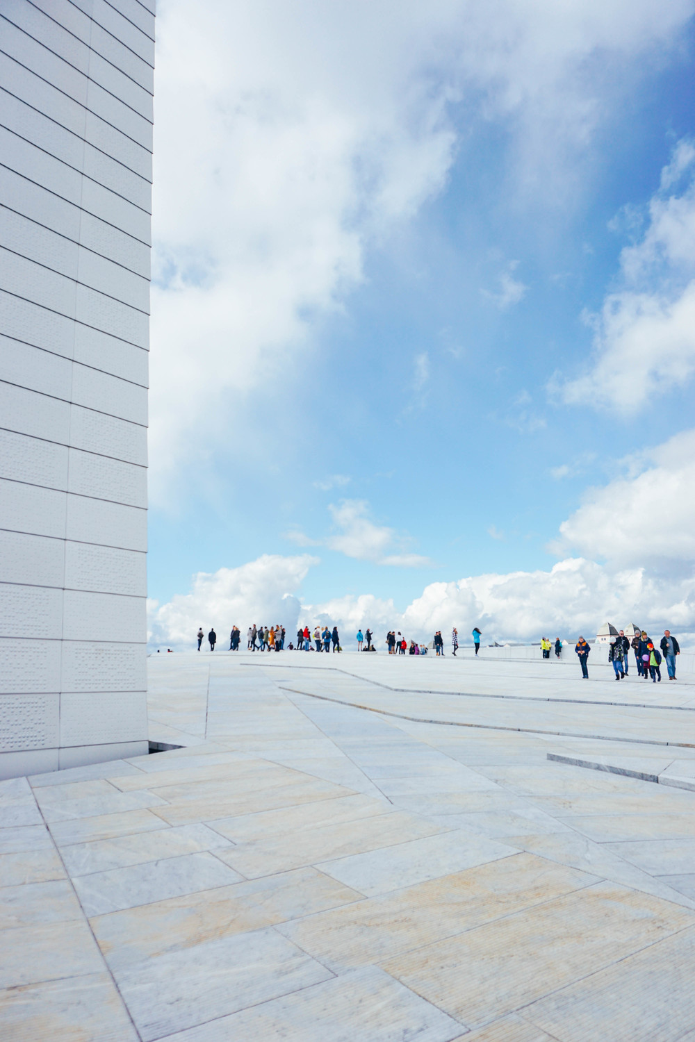 Travel to Norway and visit the Oslo Opera House