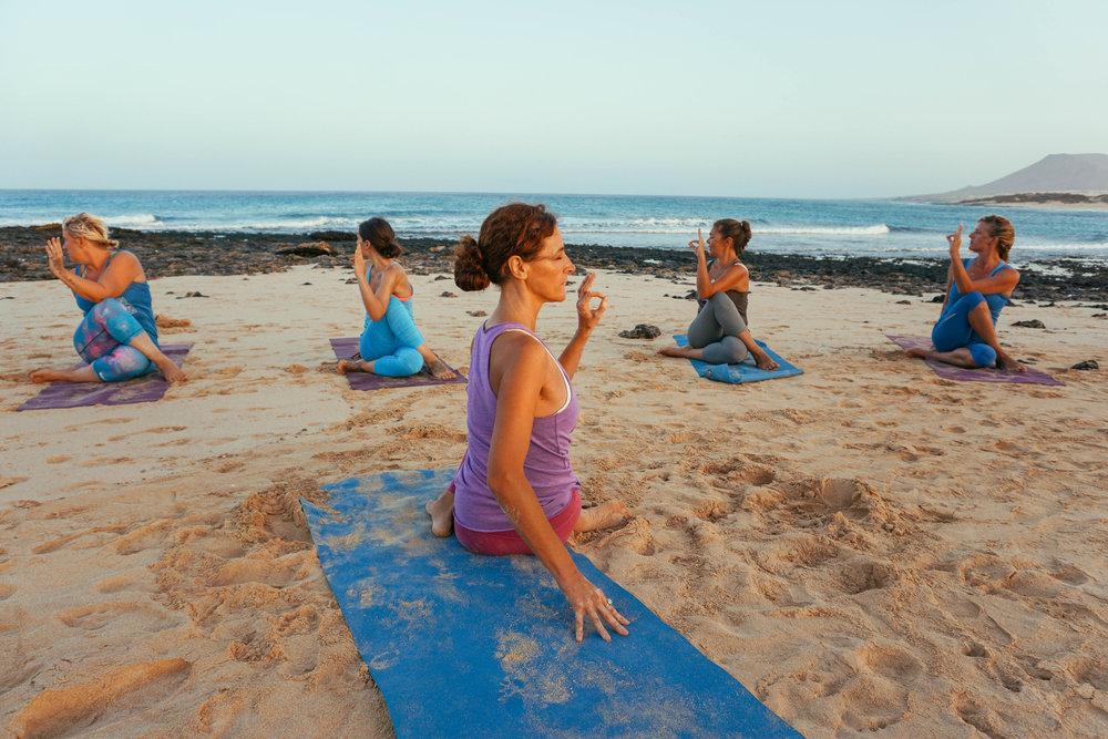 AzulFit Yoga and Pilates Retreat in Fuerteventura, Lotus Retreat in Corralejo
