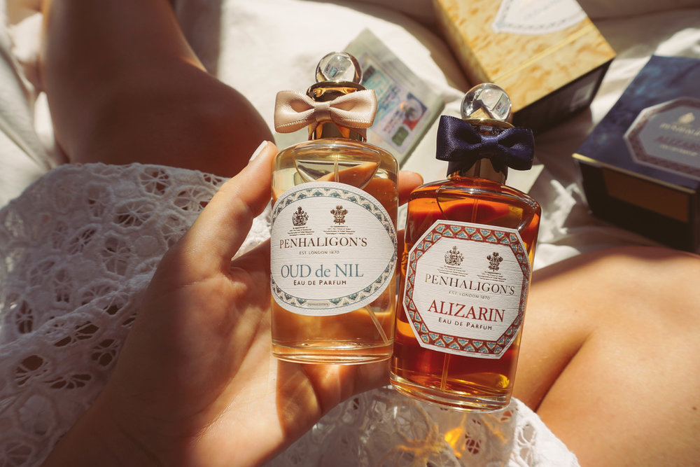 Penhaligons, New Trade Route Collection. Oud de Nil and Alizarin.