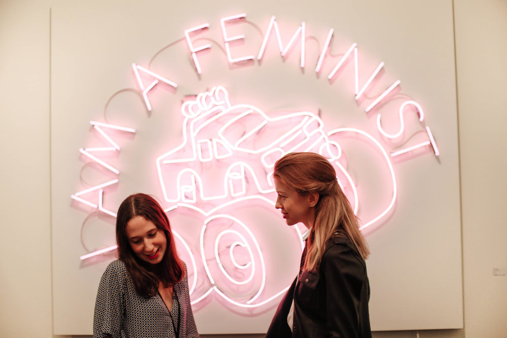Frieze Art Fair 2016- I am a feminist