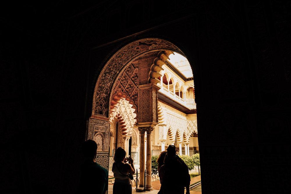 Alcazar, El Real Alcazar Spain. Moorish Architecture. Top 5 places to visit in Seville.
