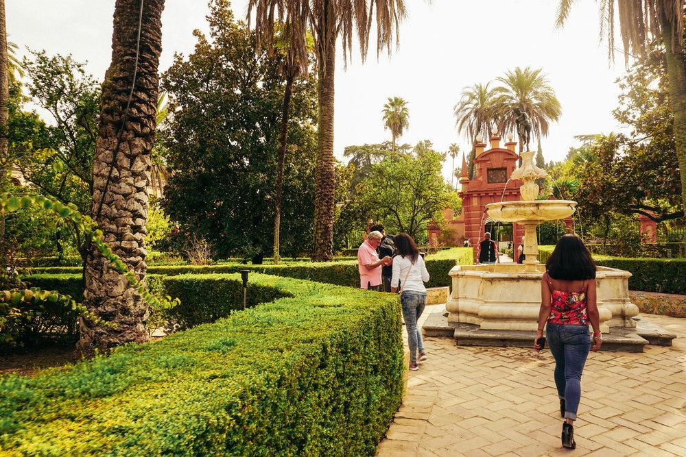 El Real Alcazar Seville Blog Post Kat Caprice