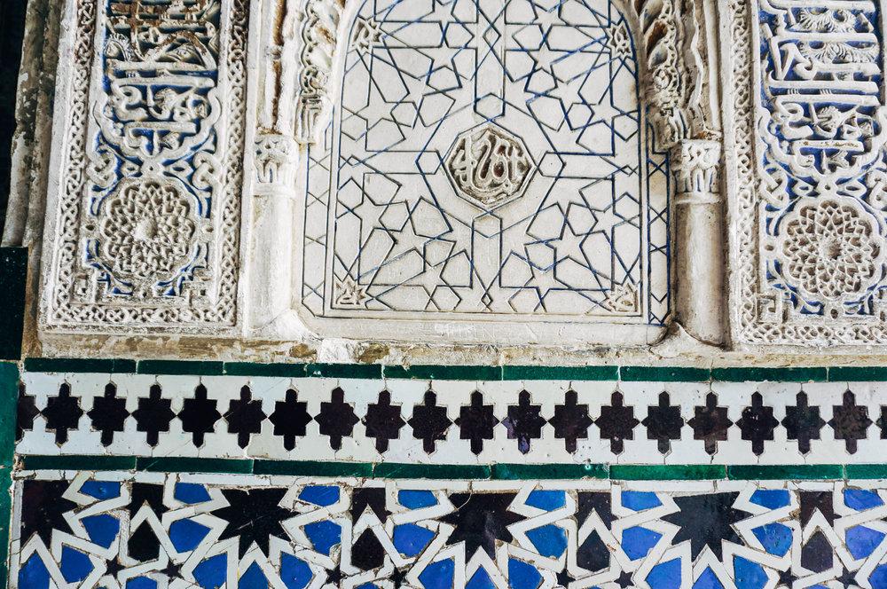 El Real Alcazar Mosaics Seville Blog Post Kat Caprice