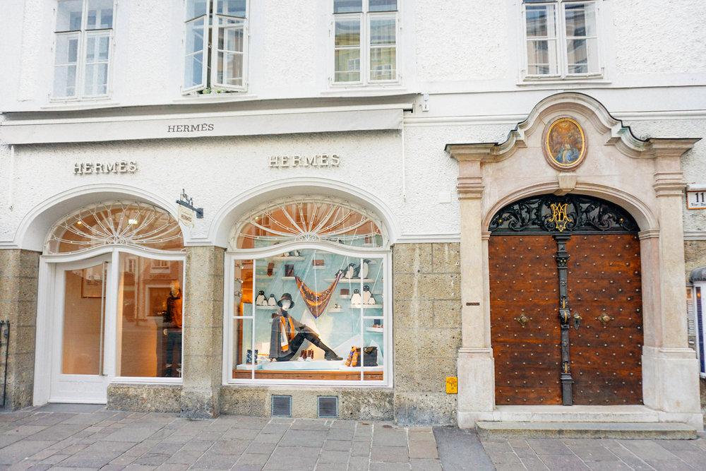 Shopping in Salzburg Austria