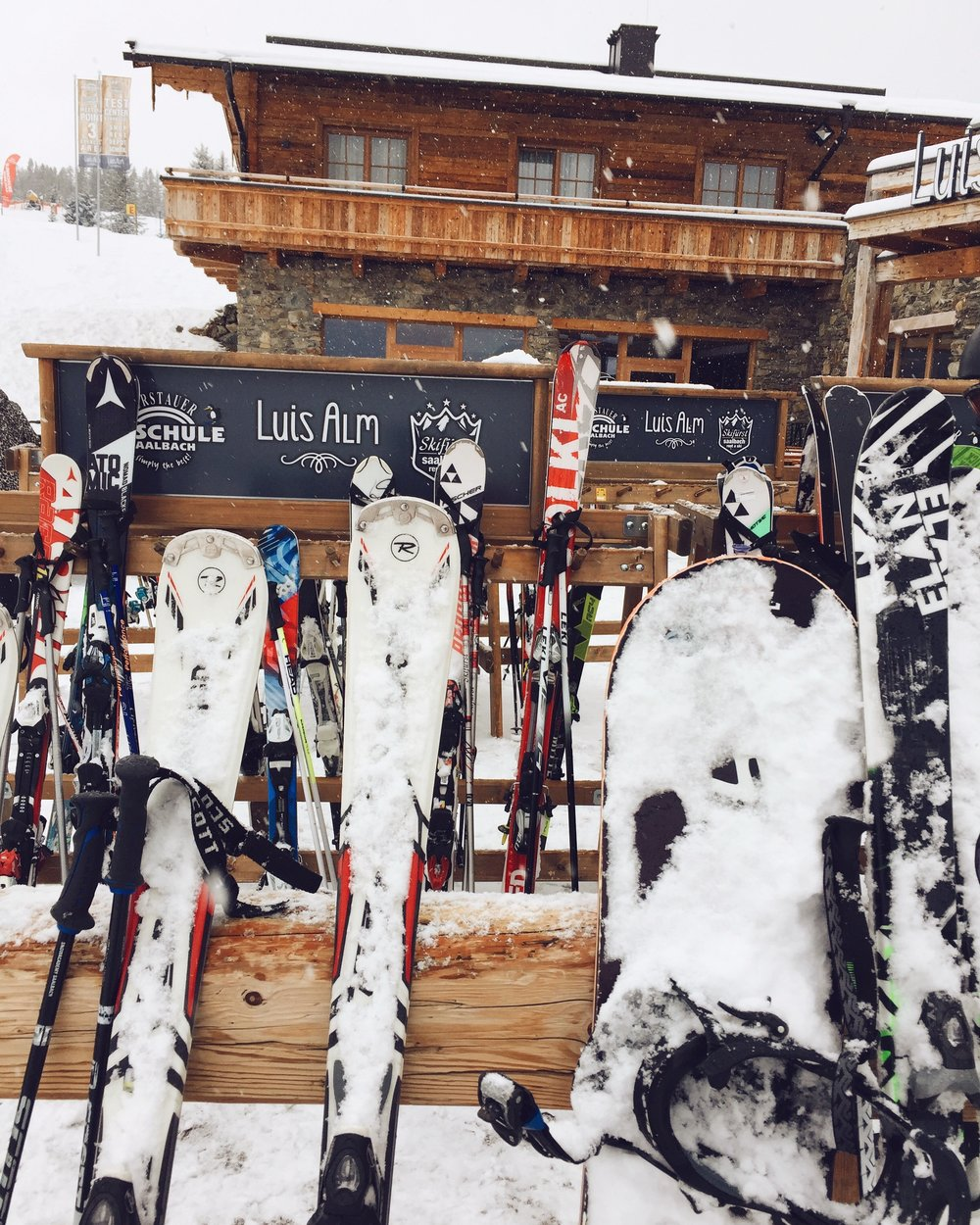 Skiing in Saalbach Hinterglemm