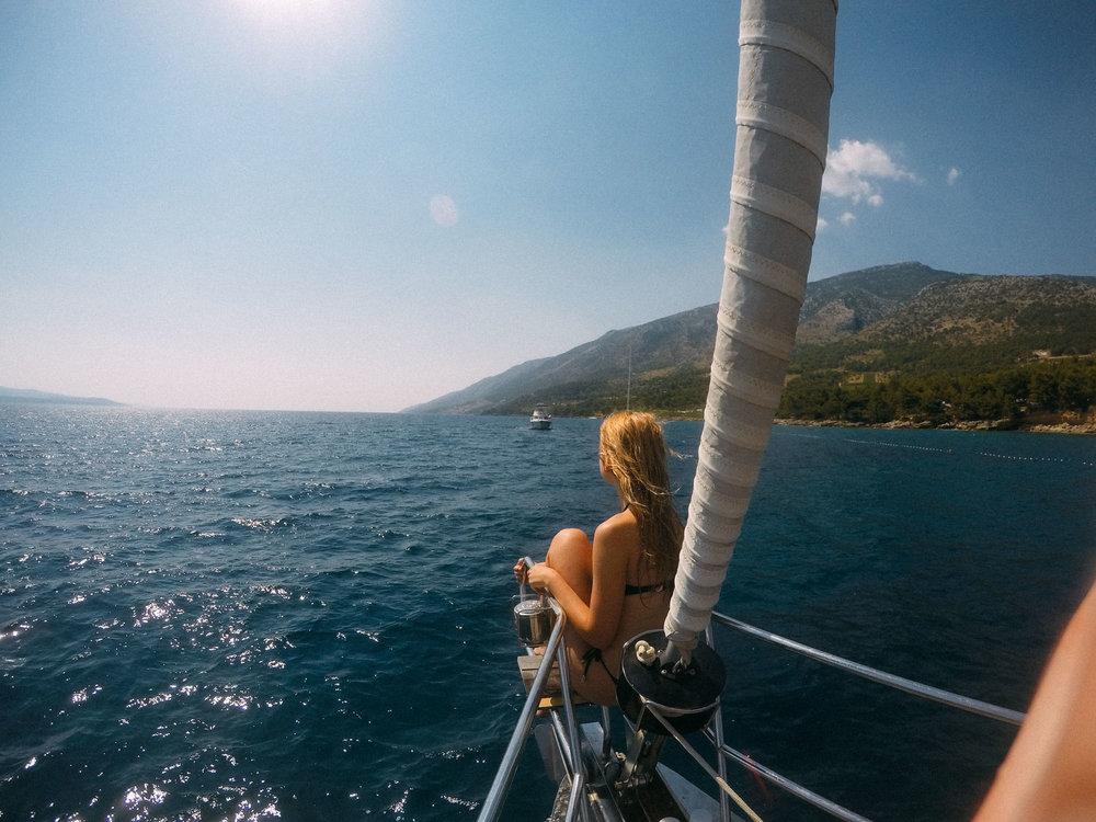 Kat Caprice Sailing Croatia
