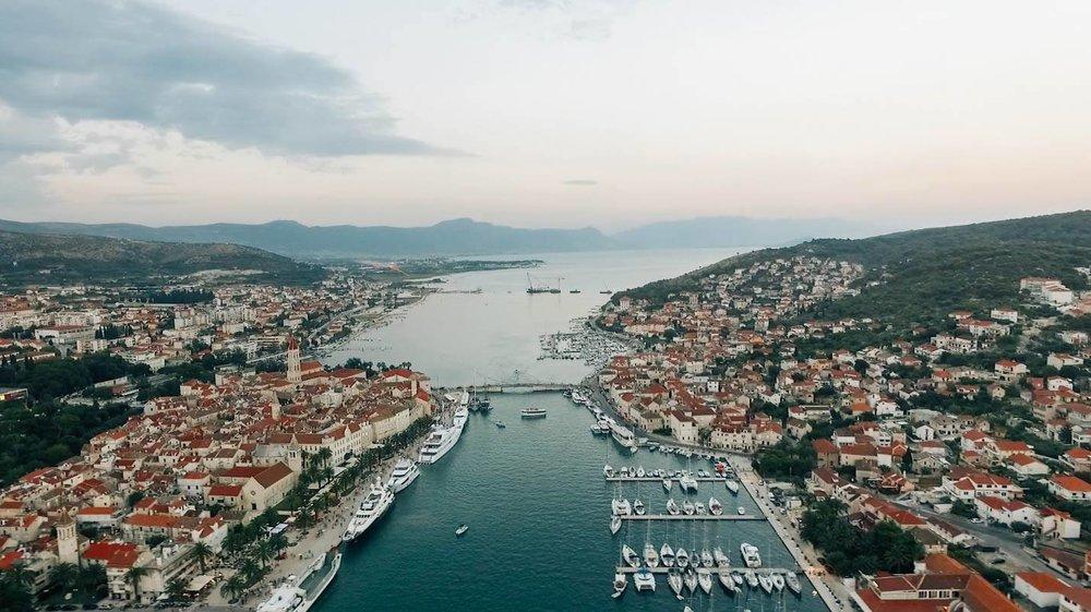 Trogir, Croatia by Drone