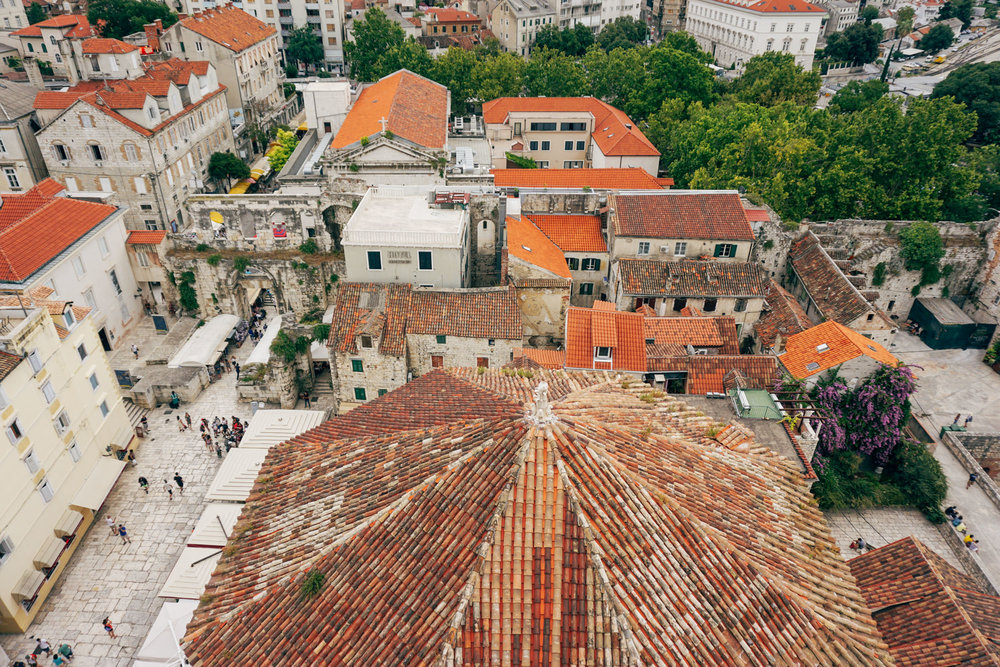 1 day itinerary for Split, Croatia