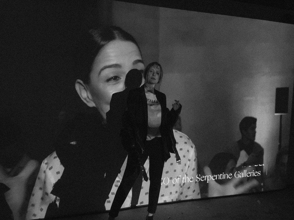 Kat Caprice and London Fashion Week