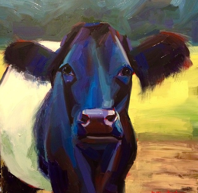 2015- RiverRoad Cow Close up 20x20.jpg