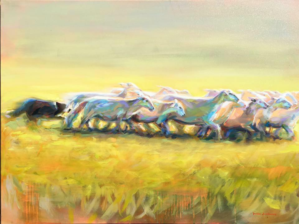 Sheep Herding Katie Jacobson Art 48x36 oil on canvas.jpg