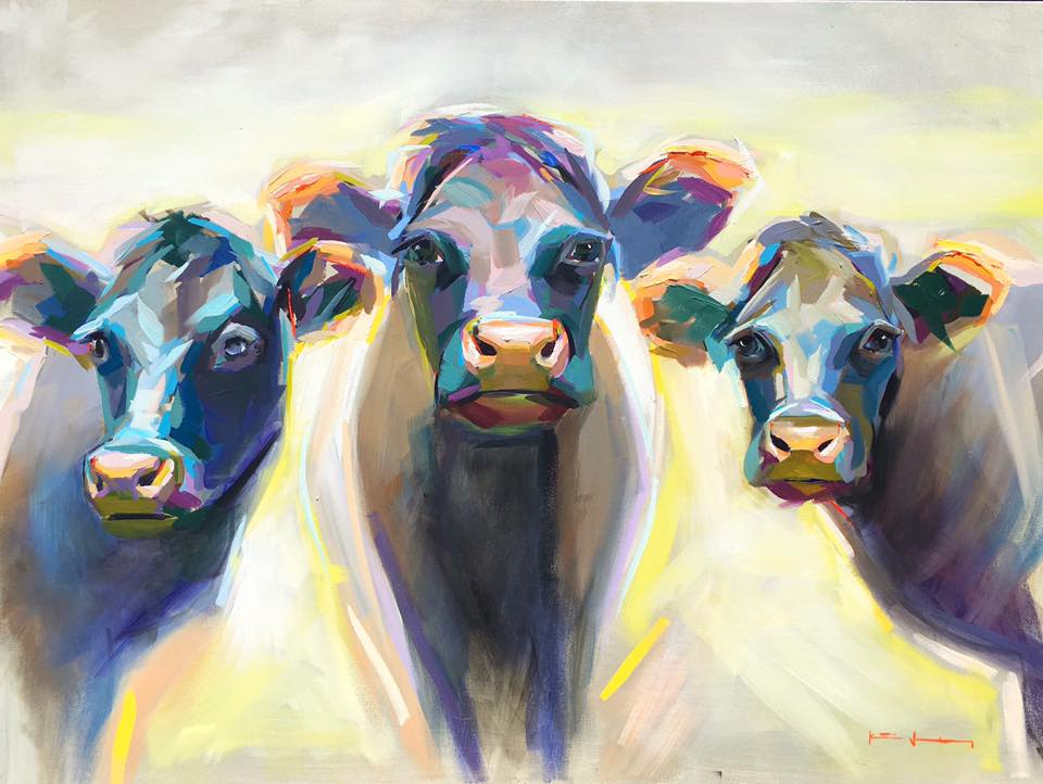 Three Cows Katie Jacobson Art 48x36 oil on canvas.jpg