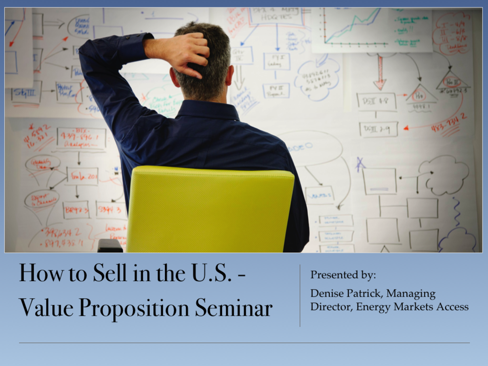 Value Proposition Development Seminar