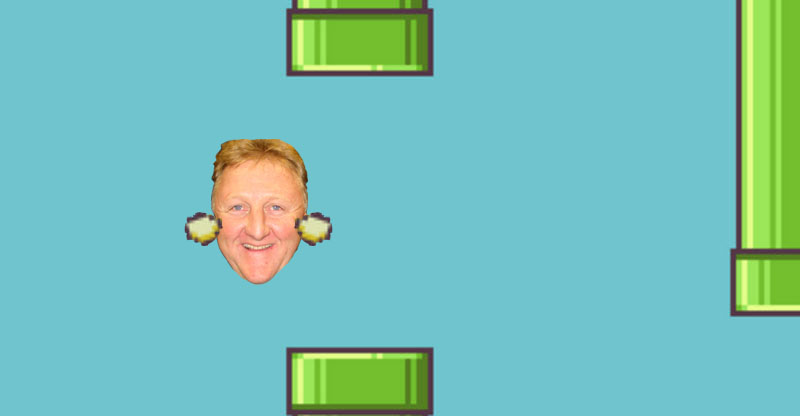 Admittedly, Flappy Larry Bird is my favorite.