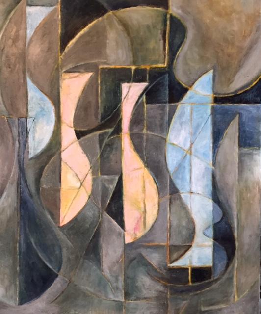 Vicki Robinson, Untitled,  oil on canvas,2015.