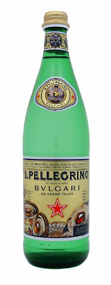 'San Pelligrino Sparkles With Bulgari'