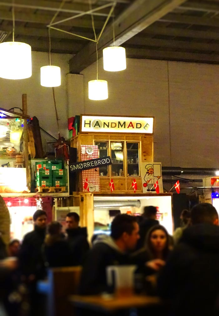 Characterful stalls at Copenhagen Street Food © Caroline Santos
