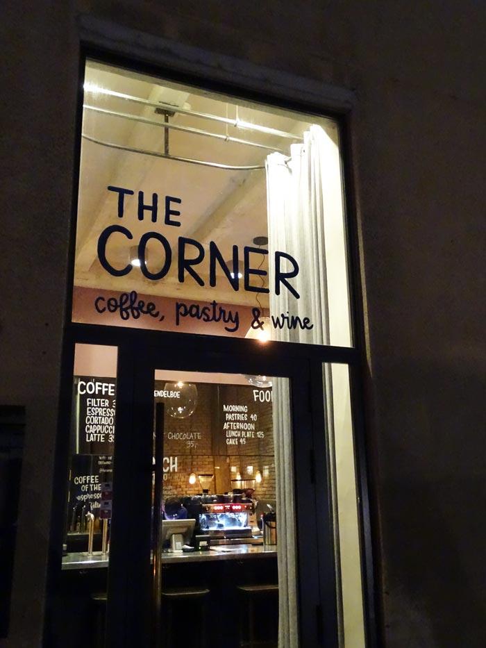 Cafe bar The Corner, part of Noma's sister eatery 108 © Caroline Santos