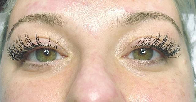 We cannot get enough of Cristina Maria's (@skinwitch_) lash extensions! Call to make your appointment with for all your skin, lash, and makeup needs today! This month, all new lash clients get $100 off their first full set! Call 215.790.0200 now to set up consultation and appointment!
