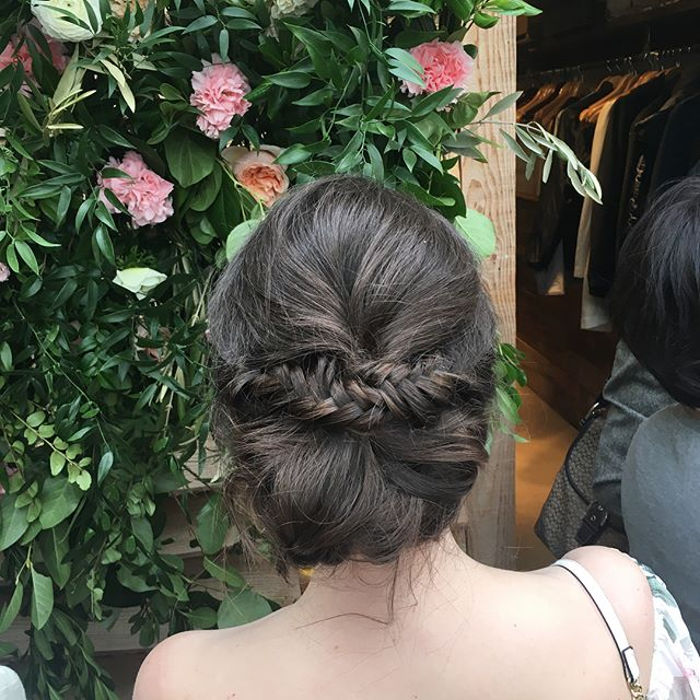 Spring is blooming and so are our clients! 🌼 Updo by Katie Baker (@kateb_hair)