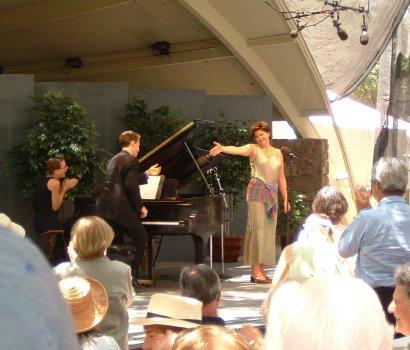 Pianist Brian Zeger, mezzo-soprano Susan Graham