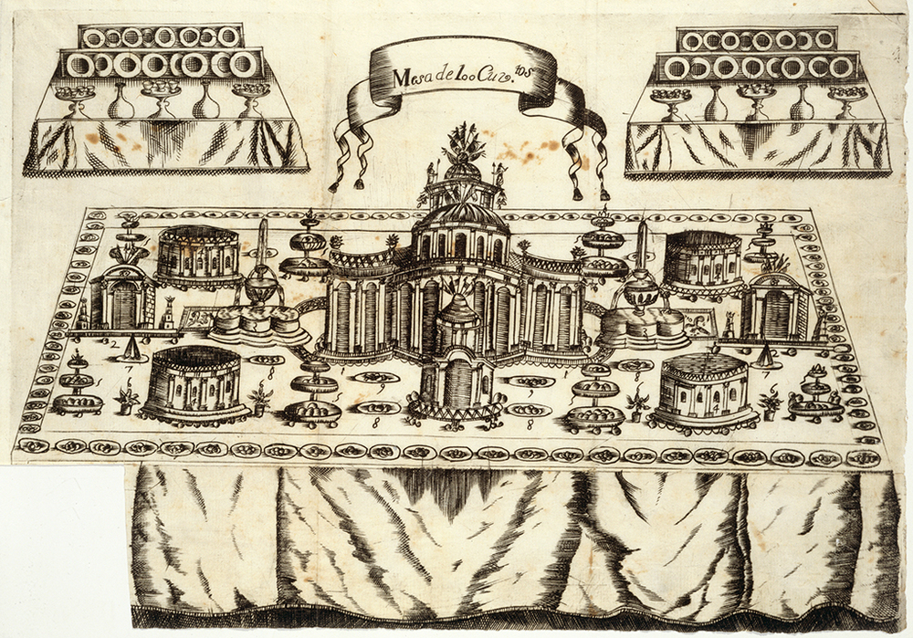 Table with One Hundred Settings, 1747