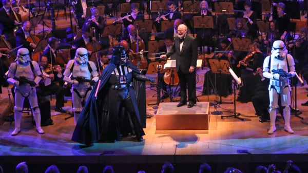 "LA Phil Opening Gala 9/30/2015 with Honoree John Williams and Los Angeles Children's Chorus singing music from ""Amistad""  (Photo credit: LA Phil)"