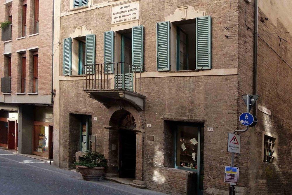 Rossini's birth house