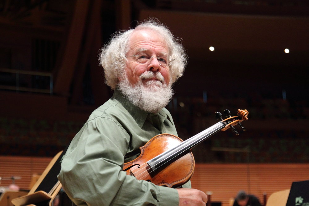 L.A. Phil violinist Barry Socher (1948-2016)