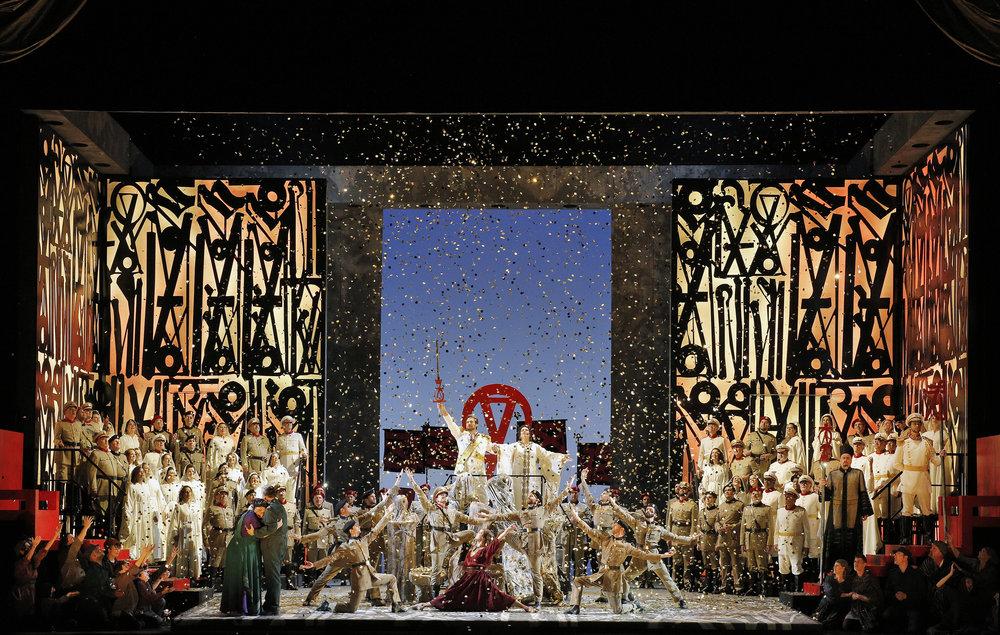 Aida, Act II Scene 2 Finale