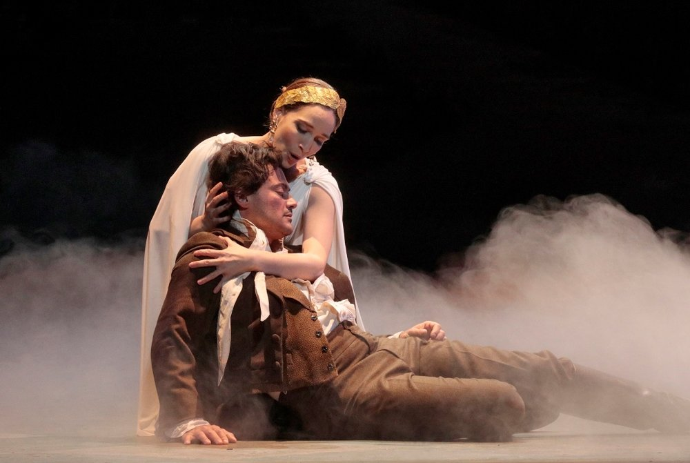 Epilogue: Kate Lindsey as the Muse, Vittorio Grigolo as Hoffmann