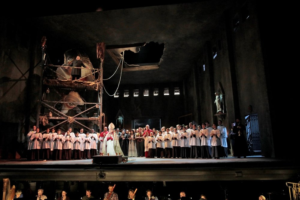 Tosca, Act One finale