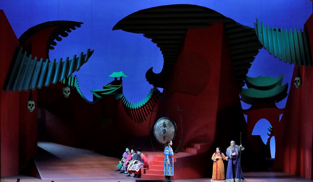 Turandot, Act 1