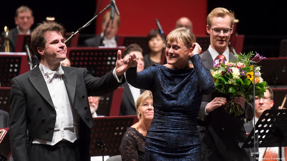The Bamberg Symphony Orchestra and its principal conductor Jakub Hrůša on the closing night