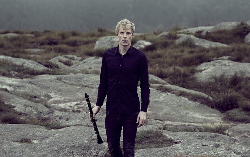 Clarinetist Martin Fröst