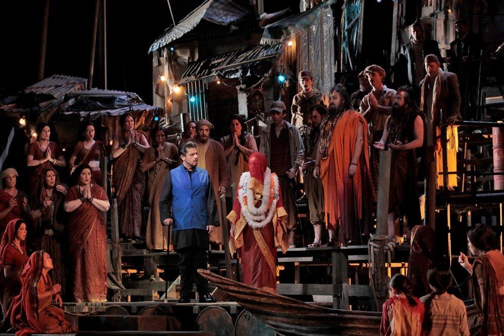 Pearl Fishers, Act I