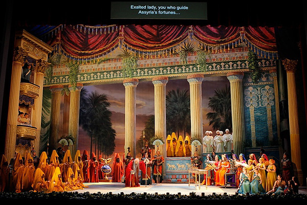Nabucco, Act 3 (Photo credit: Washington National Opera)