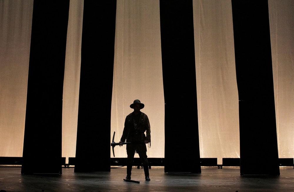 Opening scene. Photo: Cory Weaver