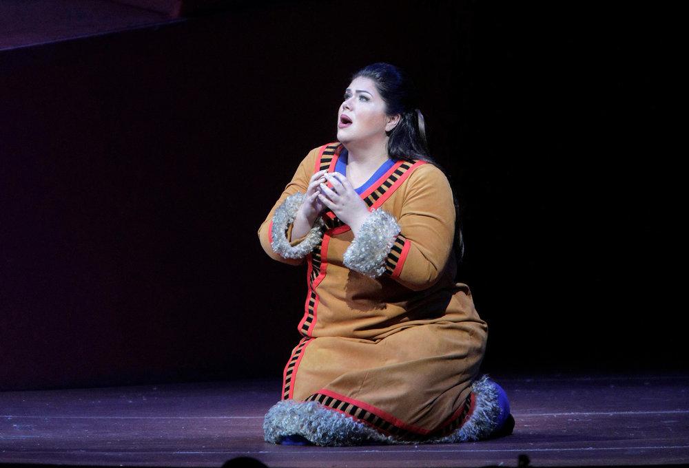 "Leah Crocetto as Liù in Puccini's ""Turandot."""