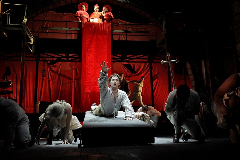 Auto-da-fé Scene, Candide, Act I