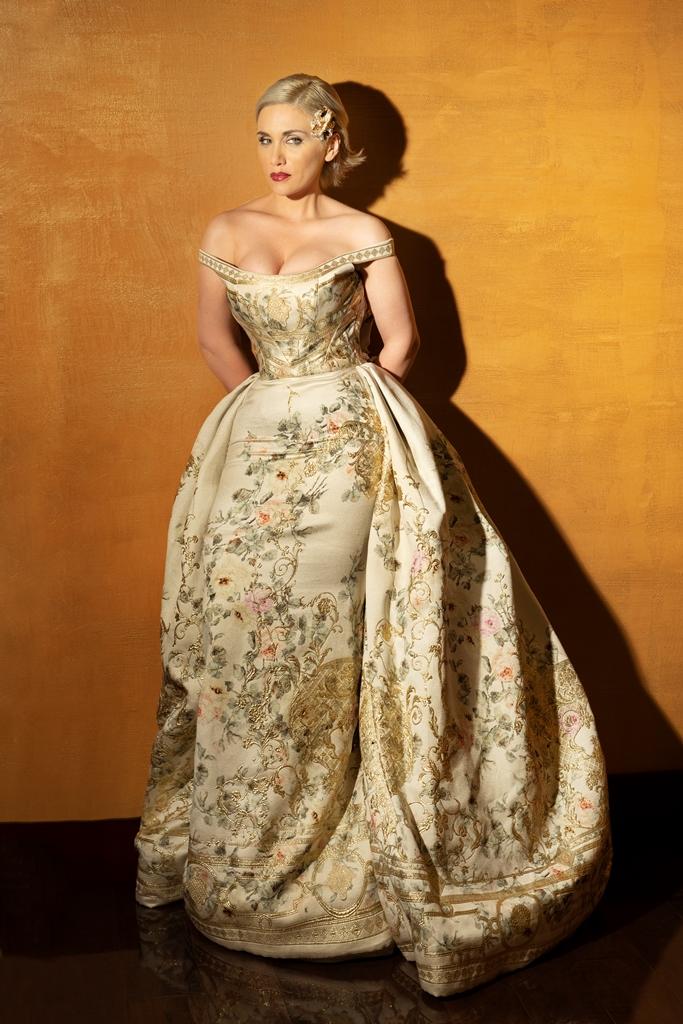 Italian soprano Carmen Giannattasio