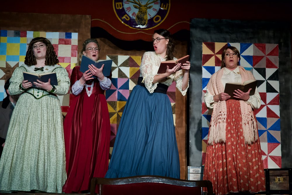 Island City Opera's 'Little Women'.  Photo by William Porter