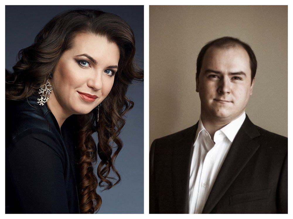 Mezzo-soprano Yulia Matochkina, baritone Roman Burdenko