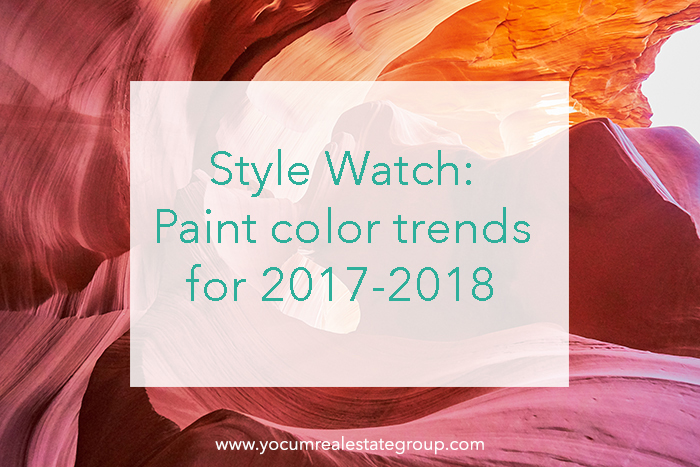 Get In The Know About Paint Color Trends For 2017 And 2018 Yocum