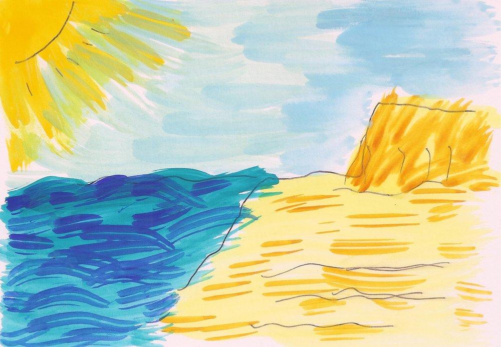 Ras Tanura Beach, Saudi Arabia by Raymond Shih