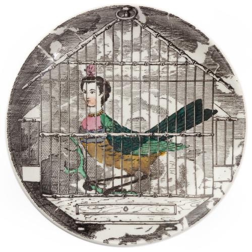 surrealist plates by piero fornasetti — welcome, Mobel ideea