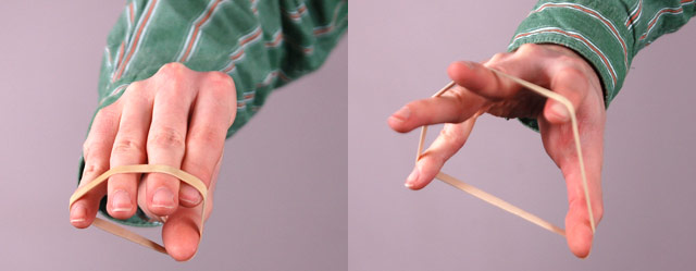 5 Finger Rubber band Extension