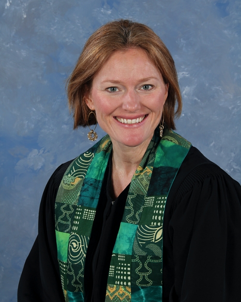 Rev. Emily Wright, Senior Associate Pastor at Roswell Presbyterian Church