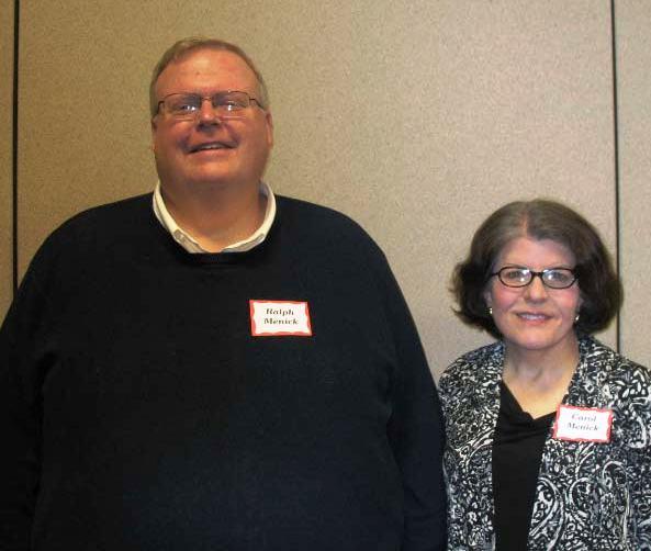 Ralph and Carol Menick