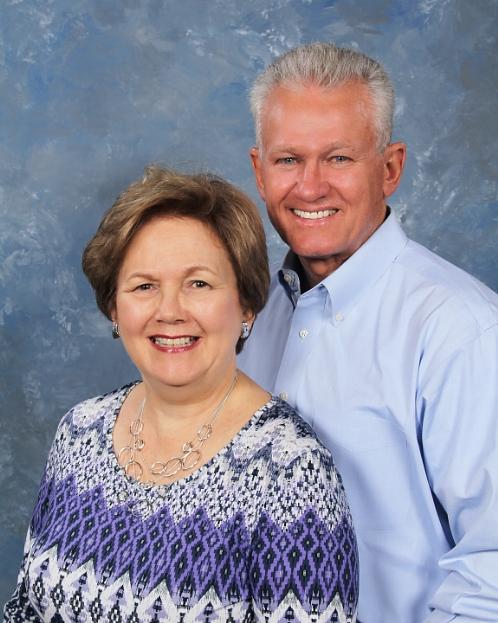 Barbara Evans Denkman and Fred Denkman